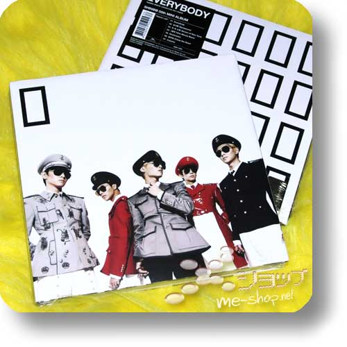 SHINee - 05th mini album EVERYBBODY (ORIG.KOREAPRESSUNG!)-0