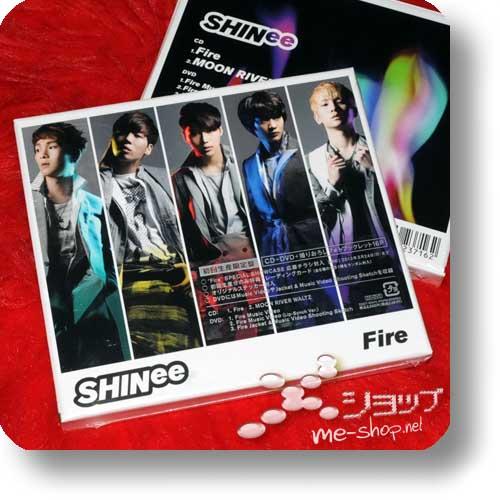 SHINee - Fire LIM.BOX CD+DVD+Photobooklet-0