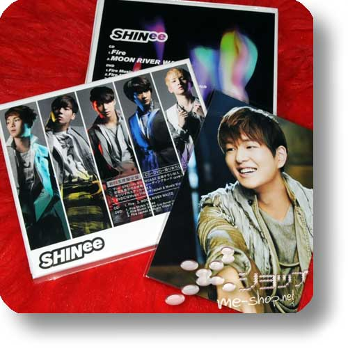 SHINee - Fire LIM.BOX CD+DVD+Photobooklet +Bonus-Fotokarte!-0