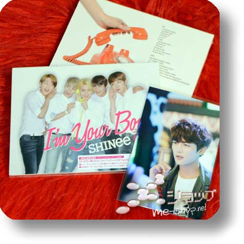 SHINee - I'm Your Boy (lim.1.Press CD+DVD+Photobook B-Type)+Bonus-Fotokarte!-0