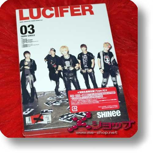 SHINee - 03 LUCIFER LIM.BOX CD+DVD+Photobook+Playbutton-0