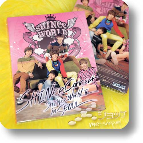 SHINee - 2nd Concert Album SHINee WORLD II in SEOUL (2CD / ORIG.KOREAPRESSUNG!)-0