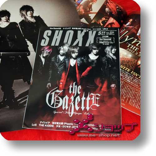 SHOXX Vol.231 (Mai 12) THE GAZETTE, LM.C, Sadie, Lc5, ViVID...-0