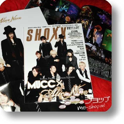 SHOXX Vol.237 (Nov.12) MUCC x ALICE NINE, SuG, Sadie, GazettE...-0