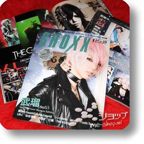 SHOXX Vol.239 (Jan.13) SuG, the GazettE, MUCC, ViVID...-0