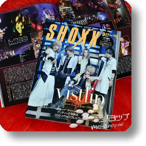 SHOXX Vol.259 (September 2014) vistlip, MUCC, R Shitei, NIGHTAMRE, SuG... INKL.BONUS-vistlip-CD!-0