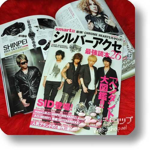 SILVER ACCE Style Book (Januar 2014) GACKT-Titel!-0