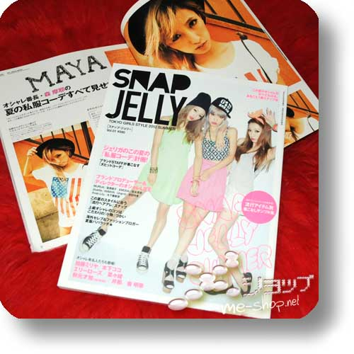 SNAP JELLY Vol.01 (Sommer 2012) Fashion- und Lifestyle-Magazin-0