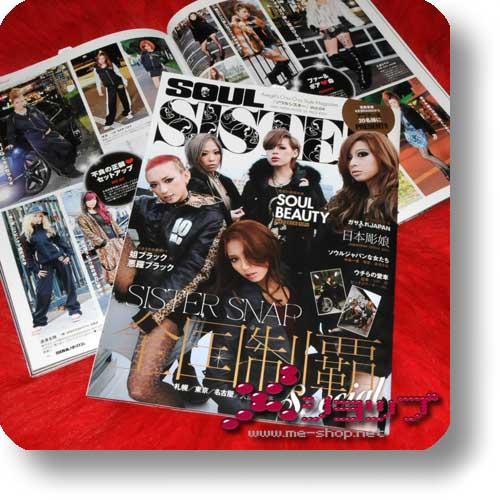 SOUL SISTER Vol.4 (Mär.12) Fashion & Lifestyle-Magazin-0