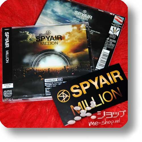 SPYAIR - MILLION lim.2CD B-Type +Bonus-Promosticker!-0