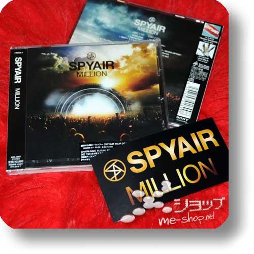 SPYAIR - MILLION +Bonus-Promosticker!-0