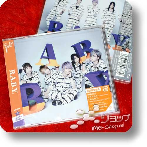 SuG - B.A.B.Y. (lim.CD+DVD A-Type)-0