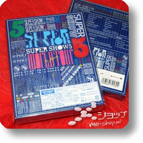 SUPER JUNIOR - SUPER SHOW5 World Tour in Japan LIM.BOX 2BLU-RAY+Photobook-0