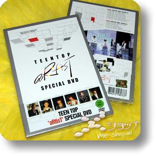 TEEN TOP - aRtisT SPECIAL DVD (LIM.2DVD/ORIG.KOREAPRESSUNG!)-0