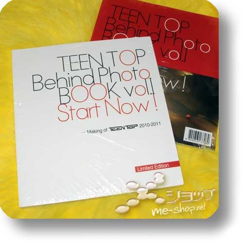TEEN TOP - Behind Photo BOOK vol.I Start Now! (ORIG. KOREA!)-0