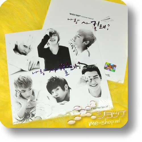 "TEEN TOP - 3rd Single ""Summer Special"" LIM.DIGIBOOK / ORIG.KOREA-0"