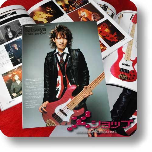tetsuya (L'Arc~en~Ciel) BASS MAGAZINE Special Feature inkl.5 Laruku-Bandscores!-0