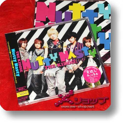 THE KIDDIE - Nutty nasty LIM.CD+DVD-0