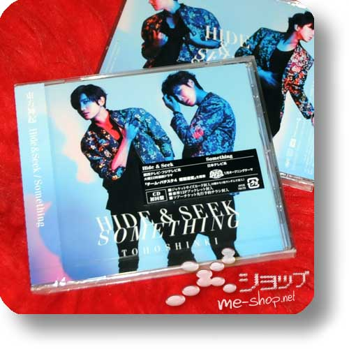 TOHOSHINKI - Hide & Seek / Something (inkl.Bonustrack!)-0