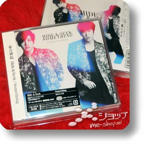 TOHOSHINKI - Hide & Seek / Something LIM.CD+DVD-0