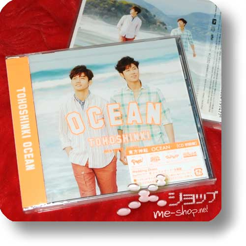 TOHOSHINKI - OCEAN (inkl.Bonustrack/Video) lim.1.Press-0