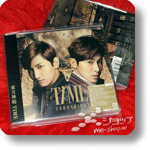 TOHOSHINKI - TIME (CD+DVD A-Type) LIM.1.PRESS!-0