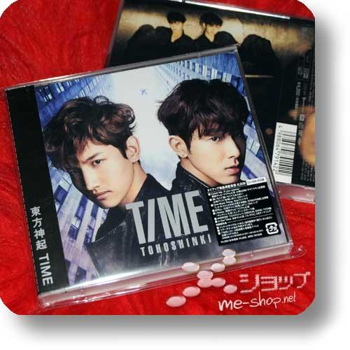 TOHOSHINKI - TIME (CD+DVD B-Type) LIM.1.PRESS!-0