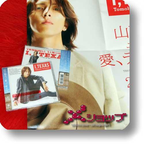 TOMOHISA YAMASHITA - I, TEXAS LIM.CD+DVD A+BONUS-POSTER!-0