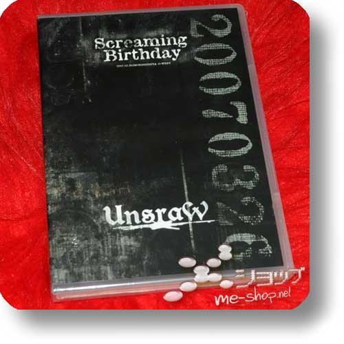UnsraW - Screaming Birthday 2007.03.26 lim.DVD+CD-0