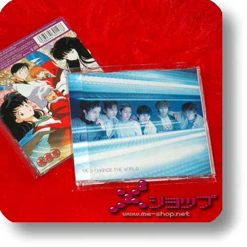 V6 - CHANGE THE WORLD lim.1st Press (INU YASHA)-0