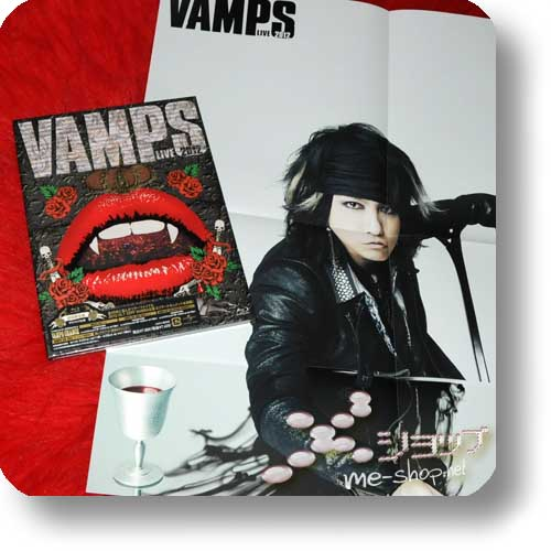 VAMPS - VAMPS LIVE 2012 (lim.Blu-ray / Digipak) +Bonus-Promoposter-0