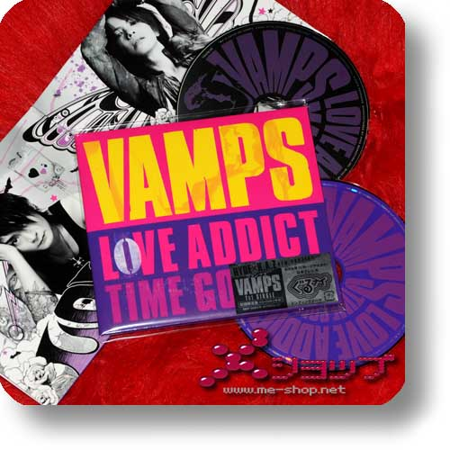 VAMPS - LOVE ADDICT lim.CD+DVD (HYDE / K.A.Z.)-0
