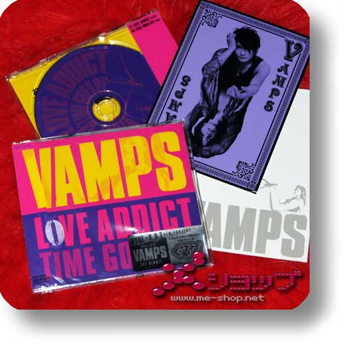 VAMPS - LOVE ADDICT +Bonus-Postkarte!-0