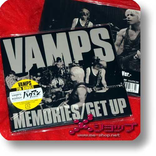 VAMPS - MEMORIES/GET UP lim.CD+DVD (HYDE / K.A.Z.)-0