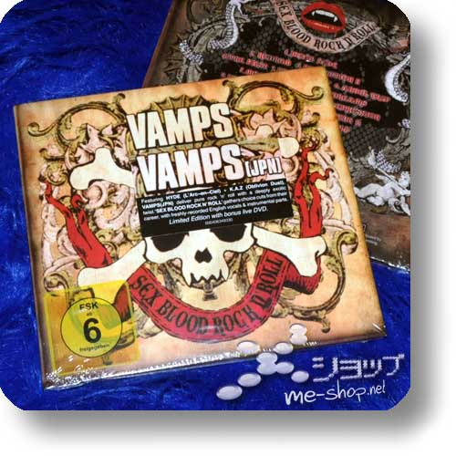 VAMPS - SEX BLOOD ROCK N' ROLL lim.Deluxe Edition CD+DVD (EU-Pressung)-0