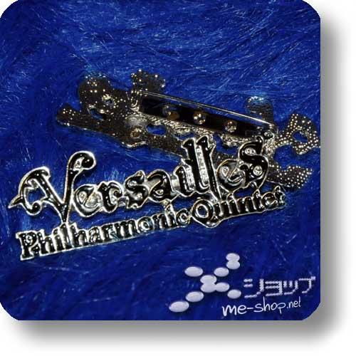 """VERSAILLES - Schmuck-Anstecker """"Logo"""" Metall-0"""