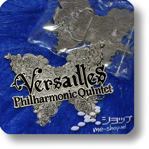 """VERSAILLES - Gürtelschnalle """"Logo"""" Metall-0"""