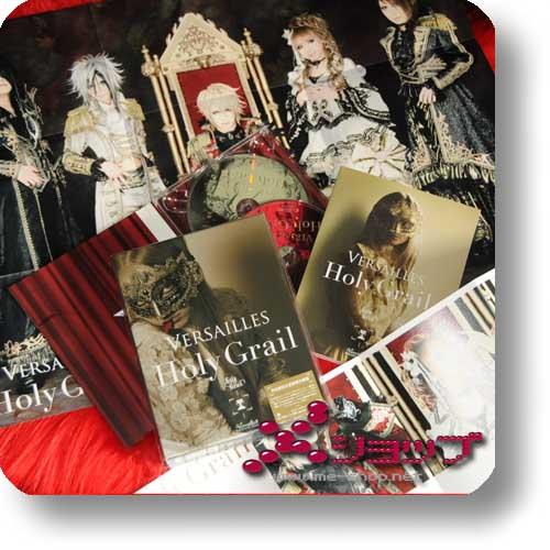 VERSAILLES - Holy Grail LIM.BOX CD+DVD+Photobook+Poster (Re!cycle)-0
