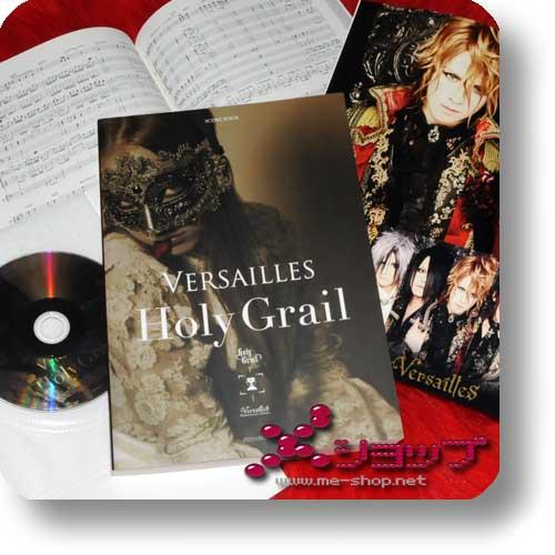 VERSAILLES - HOLY GRAIL SCORE BOOK +CD (Notenbuch)-0