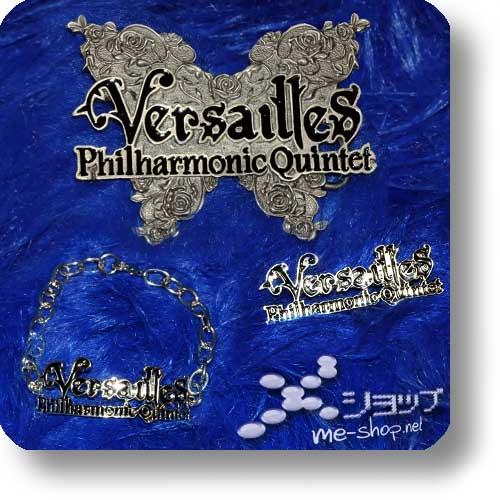 "VERSAILLES - Jewellery 3er-Schmuckset ""Logo"" Metall-0"