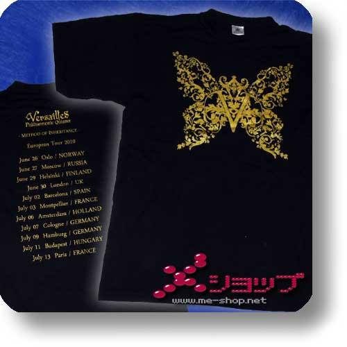 VERSAILLES - T-Shirt METHOD OF INHERITANCE EU-TOUR / Größe L (SCHNÄPPCHEN DES MONATS! ^_^)-0