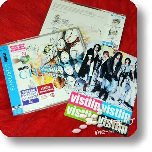 "vistlip - CHRONUS (lim.CD+DVD ""vister"") +Bonus-Stickerset!-0"