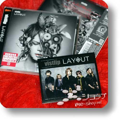 """vistlip - Layout (CD """"lipper"""") +Bonus-Fotosticker!-0"""