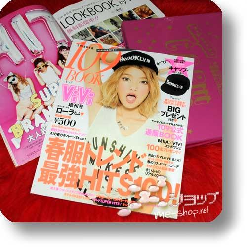 SHIBUYA 109 BOOK Sommer 2013 (ViVi / Fashion & Lifestyle-Mag) +BONUS-CAP!-0