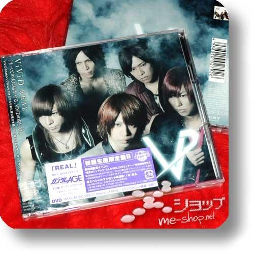 ViViD - REAL LIM.CD+DVD B-Type (Re!cycle)-0