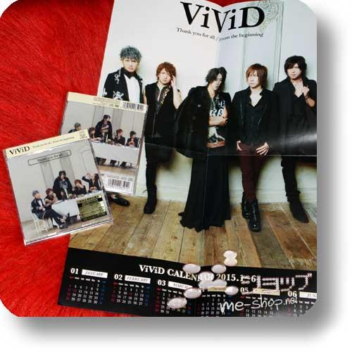 ViViD - Thank you for all (lim.CD+DVD A-Type) +BONUS-POSTERKALENDER!-0