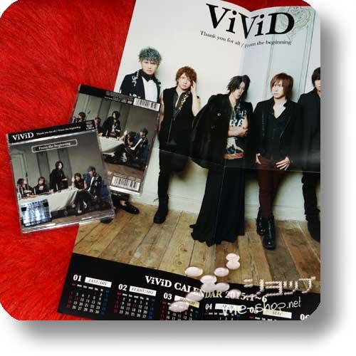 ViViD - Thank you for all (lim.CD+DVD B-Type) +BONUS-POSTERKALENDER!-0