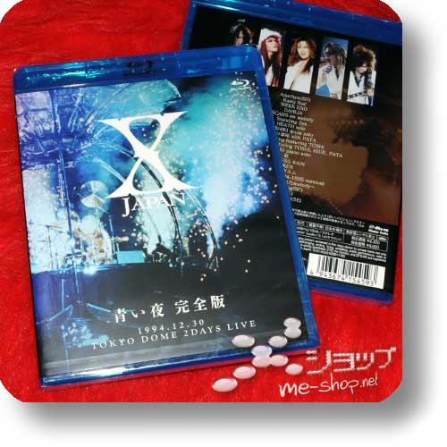 X JAPAN - Aoi yoru Kanzen Ban 1994.12.30 Tokyo Dome 2 Days Live (lim.Blu-ray)-0