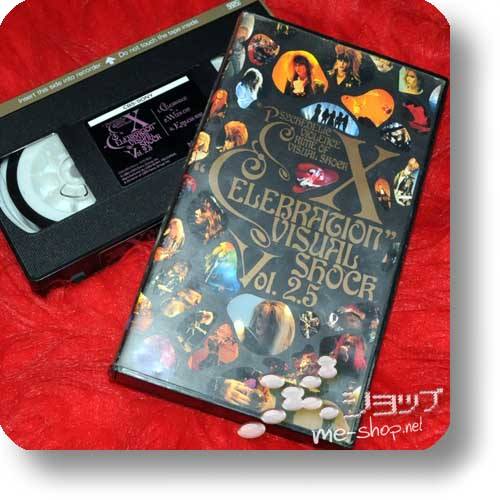 X JAPAN - CELEBRATION VISUAL SHOCK Vol.2.5 (VHS / Orig.1990!) (Re!cycle)-0