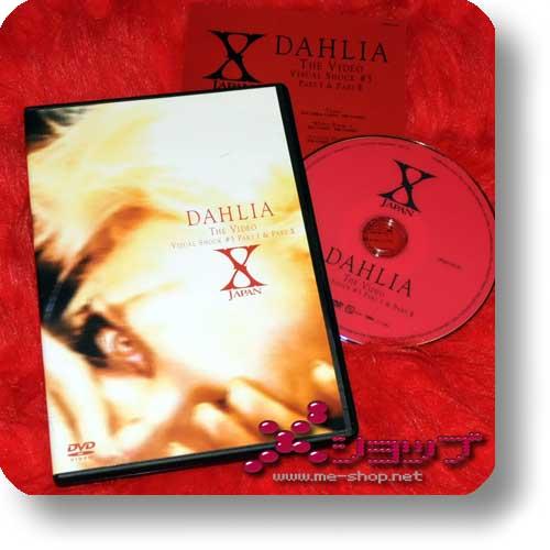 X JAPAN - DAHLIA THE VIDEO Visual Shock #5 (DVD) (Re!cycle)-0